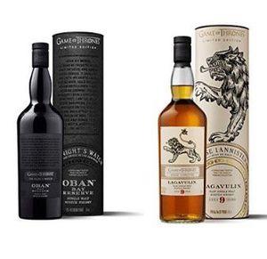 Game of Thrones Whisky: Oban Night´s Watch oder Lagavulin Haus Lannister je nur 69,99€