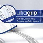 Gratis: Musterset ultragrip Etikettenbögen bestellen