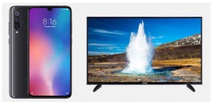 Xiaomi Mi 9📱+ Telefunken 48 Smart TV 📺 für 29,95€ + Vodafone Allnet Flat mit 7GB LTE für 36,99€ mtl.