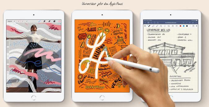 Neue iPads 2019 offiziell vorgestellt