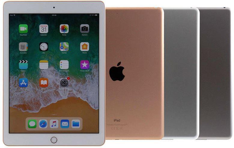 Apple iPad (2018) 9,7 Zoll mit 128GB und 4G für 388€ (statt 509€)   neuwertiger Zustand