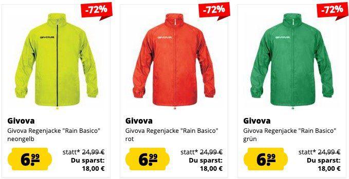 SportSpar Jacken Sale ab 5,55€ je Jacke + 5€ Gutschein ab 60€