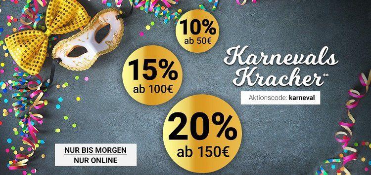 Karstadt Staffelrabatt mit bis zu 20%
