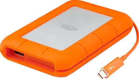 LaCie Rugged Thunderbold   2,5 Zoll USB3.0 SSD mit 500GB + stoßfestem Gehäuse für 169,99€(statt 200€)