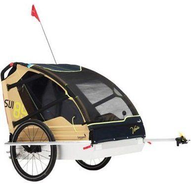 LEGGERO Vento v89 Surf/Sail Fahrradanhänger Becco Kupplung für 215€ (statt 305€)
