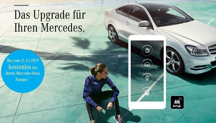 Mit dem kostenlosen Mercedes me Adapter deinen älteren Mercedes vernetzen