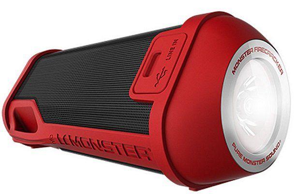Monster Firecracker BT Lautsprecher in Rot für 39,95€ (statt 69€)