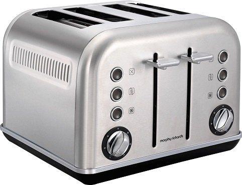 MORPHY RICHARDS 242026 Accents Toaster aus Edelstahl für 62€ (statt 78€)