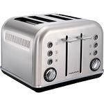 MORPHY RICHARDS 242026 Accents-Toaster aus Edelstahl für 62€ (statt 78€)