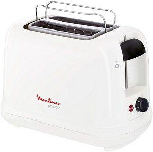 MOULINEX LT 1611 Toaster in weiß/schwarz mit 850 Watt für 24€ (statt 33€)