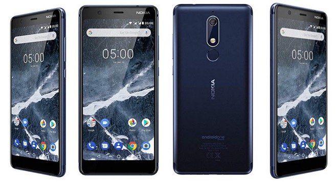 Nokia 5.1 Smartphone (5,5 Zoll, 16GB, 2GB, Dual SIM) für 99€ (statt 116€)