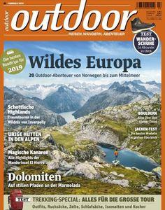 12 Ausgaben outdoor Magazin für 65,80€ inkl. 50€ BestChoice Gutschein
