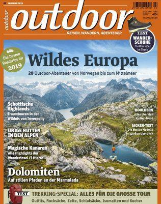 12 Ausgaben outdoor Magazin für 70,80€ inkl. 50€ BestChoice Gutschein