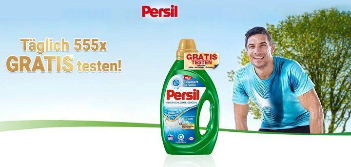 Wasch Gele von Persil kostenlos