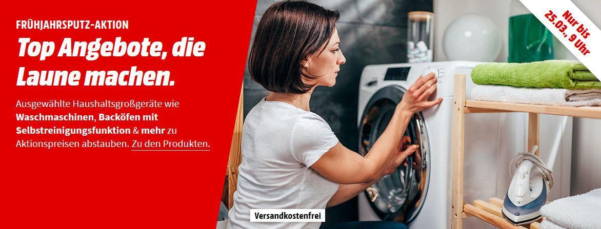 MM Frühjahrsputz Aktion: günstige elektro Großgeräte   z.B. GORENJE Profi Set Pyro Einbauherdset  für 599€ (statt 695€)