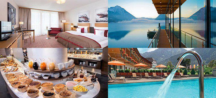 2 ÜN in Tirol direkt am Achensee inkl. Frühstück, Minibar Nutzung & Wellness auf 3.000m² ab 159€ p.P.