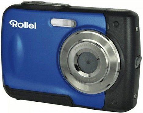 ROLLEI Sportsline 60 Plus Digitalkamera in Blau für 39€ (statt 43€)