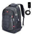 XY Life Notebook-Rucksack mit USB-Ladeanschluss in Schwarz für 19,99€ (statt 40€)