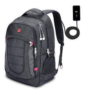 XY Life Notebook Rucksack mit USB Ladeanschluss in Schwarz für 19,99€ (statt 40€)