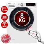 HOOVER Waschmaschine DXOA Q48AHB7-84 (8 kg, NFC, 1400 U/Min) für 299,90€ (statt 399€)