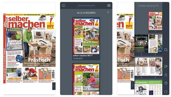 iOS  & Android: Archiv 2018 vom selber machen Magazin gratis (statt 36€)