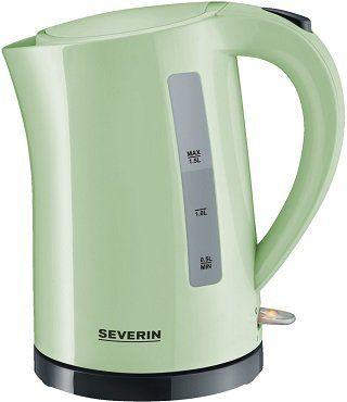 Severin WK 9921 Wasserkocher in mint grün für 23€ (statt 26€)