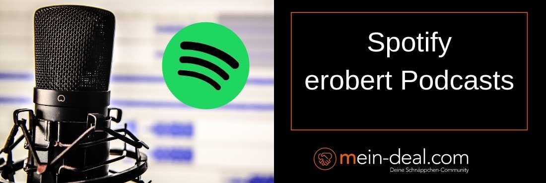 Spotify festigt Marktposition mit exklusiven Podcasts