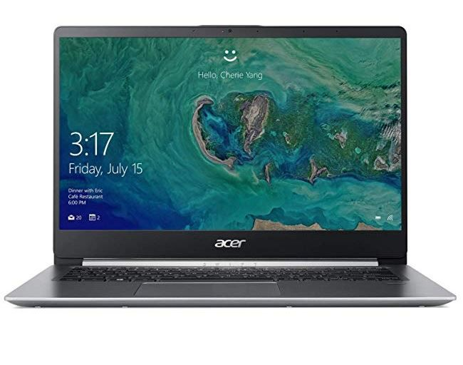 ACER Swift 1 (SF114 32 P8GG)  14 Zoll FHD Notebook mit 4GB RAM 256 GB SSD für 444€ (statt 556€)