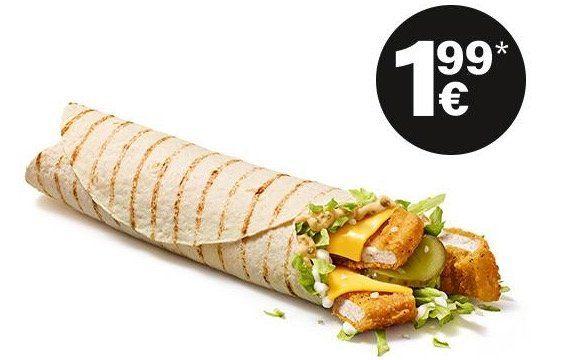 Hamburger Royal TS 🍔 und McWrap Chicken Spezial 🌯 für je 1,99€   ohne App oder Gutschein