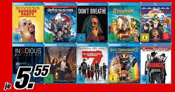 MediaMarkt Wunschfilmwochen – BluRays für je 5,55€ – z.B. Django Unchained oder Fifty Shades of Grey