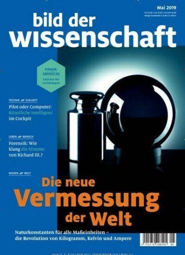 Bild der Wissenschaft Jahresabo für 117,60€ + Prämie: 110€ Amazon Gutschein