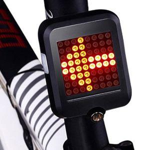 Intelligentes Fahrradrücklicht mit Blinker & mehr für 8,99€