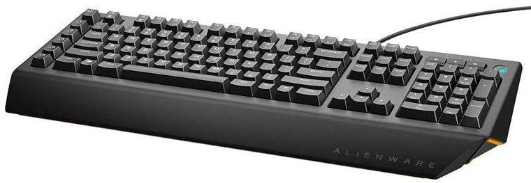 Dell Alienware AW568 Advanced Gaming Tastatur für 49,90€ (statt 76€)