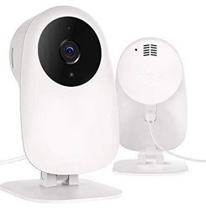 nooie 720p WLAN Cam mit Bewegungserkennung, Nachtsicht für 19,79€ (statt 30€)   ideal als Babyphone u.a.