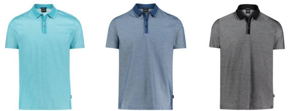 Hugo Boss  Poloshirt Piket 13 in 3 Farben für je 66,96€ (statt ~95€)