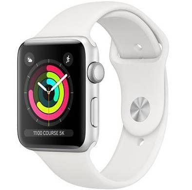 Apple Watch Series 3 42mm GPS in Silber für 239,07€ (statt 308€)
