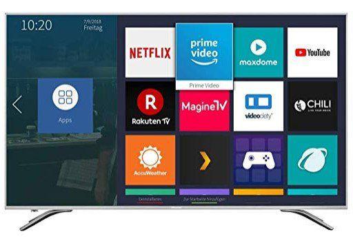 Hisense H55AE6400   55 Zoll 4K/UHD Smart TV für 419€ (statt 439€)