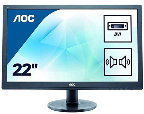 AOC Monitor E2260SDA   22 Zoll Monitor für 59,90€ (statt 110€)