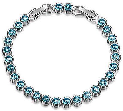 Susan Y Armband Ozean mit blauen Swarovski Steinen für 9,99€ (statt 25€)