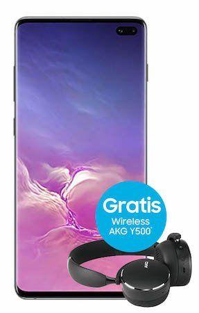 Samsung Galaxy S10+ mit 512GB für 199€ + gratis AKG Kopfhörer (Wert 110€) + Vodafone Flat mit 11GB LTE für 46,99€ mtl.