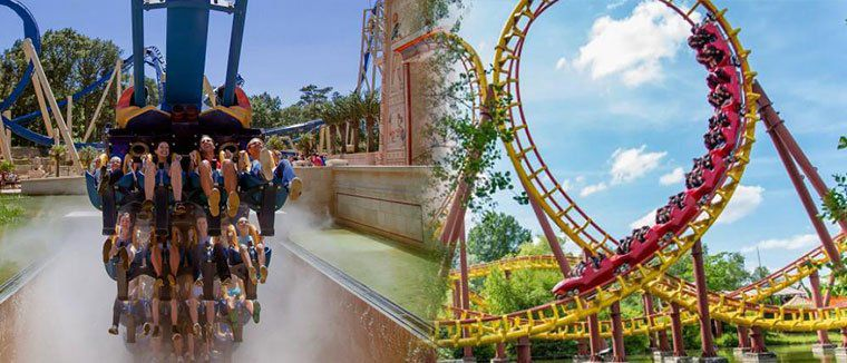 Eintritt in Parc Astérix mit mehr als 40 Attraktionen inkl. ÜF bei Paris ab 119€ p.P.