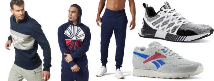 Bis Mitternacht: Reebok: bis 50% Rabatt im Sale + 30% Extra Rabatt   z.B. Leder Sneaker für 47€ (statt 60€)