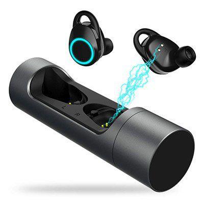 Ruicer Blue 1   Bluetooth 5.0 Kopfhörer mit Noise Cancelling & Ladebox für 32,99€ (statt 60€)