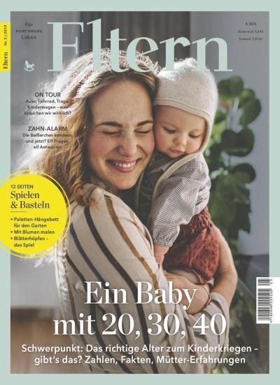 Jahresabo der Zeitschrift Eltern für 56,40€ + Prämie: 50€ z.B. Amazon Gutschein