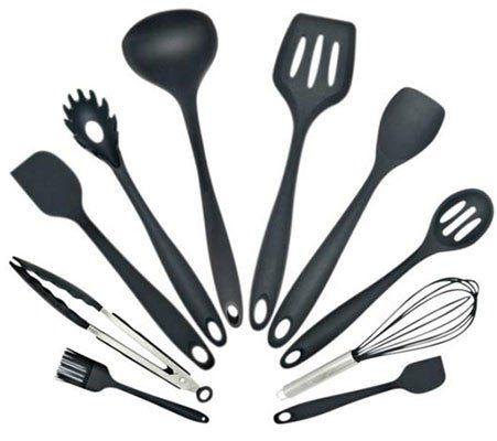 Küchelhelfer Set aus Silikon (10 Teile) für 12,99€   Prime