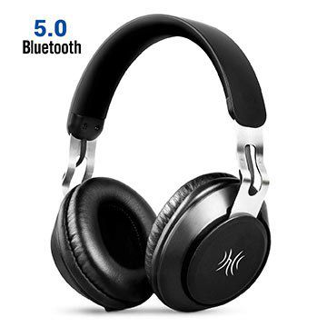 OneAudio A1 A8   BT 5.0 Over Ear Headset für 17,59€ (statt 28€)