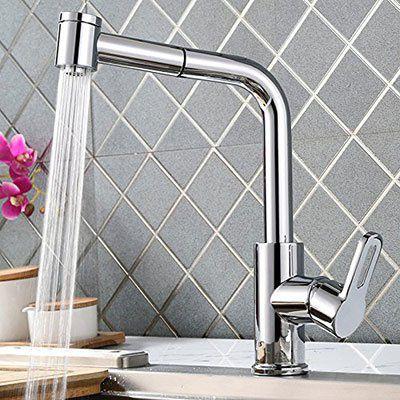 Homelody XPM0219 ausziehbarer Wasserhahn für 42,99€ (statt 73€)