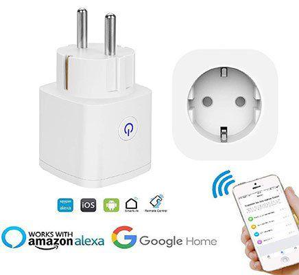 WLAN Steckdose mit Alexa, Google Home & IFTTT Unterstütztung für 12,59€   Prime