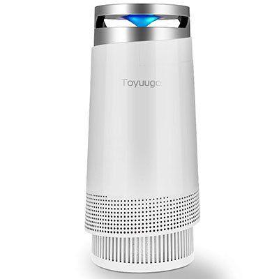 Luftreiniger mit Nachtfunktion sowie Aktivkohle  & HEPA Filter für 69,99€ (statt 100€)