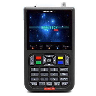 IBRAVEBOX V8 Finder   digitaler Satellitenfinder für 43,89€ (statt 59€)